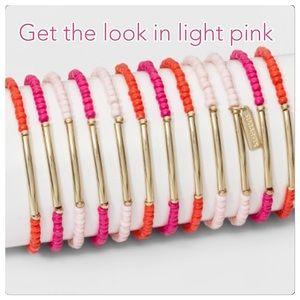 Nwt Light Pink BaubleBar bracelets